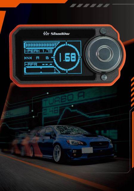 Regolatore boost elettronico digitale Shadow - Il Digital Electronic Boost Controller può passare rapidamente alla modalità di cambio.