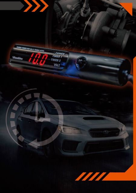 Turbo Timer - Turbo Timer can achieve the effect of engine circulating heat dissipation.