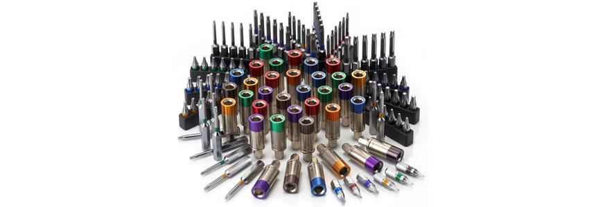 Sloky Torque Adapter, Bits von Hex, Torx, Torx Plux, H2, H3, H4, TX6, TX7, TX8, TX9, TX10, TX15, TX20, TX25, 6IP, 7IP, 8IP, 9IP, 10IP, 15IP, 20IP, 25IP <br />Benutzerfreundlich für CNC-Schneidwerkzeug zum Bearbeiten, Drehen und Fräsen.