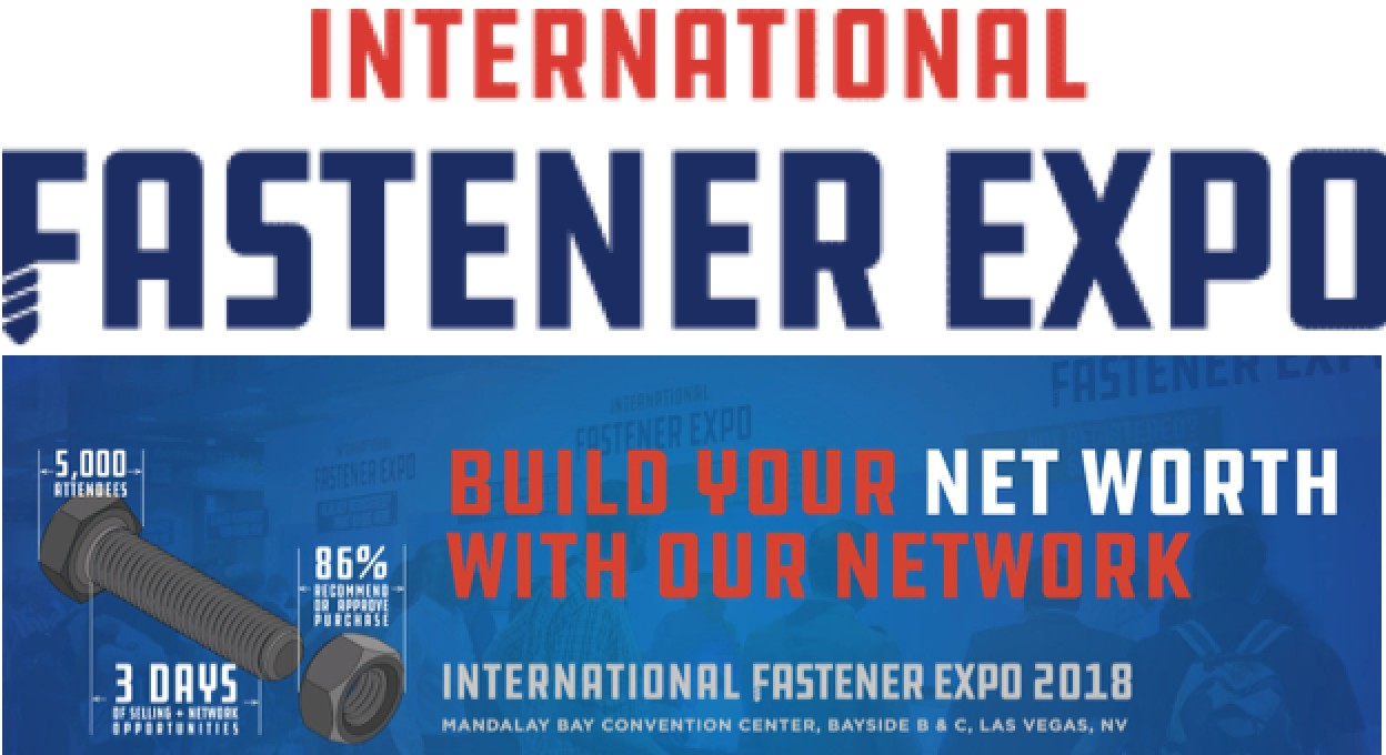 Chienfu Sloky international fastener expo 2018 in Las Vegas