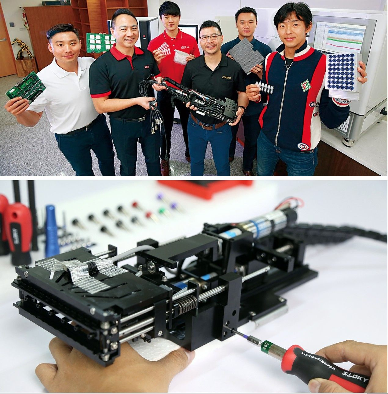 Sloky and Chienfu are very proud to be a part of Team Taiwan of second generation and able to contribute our expertise of torque control.