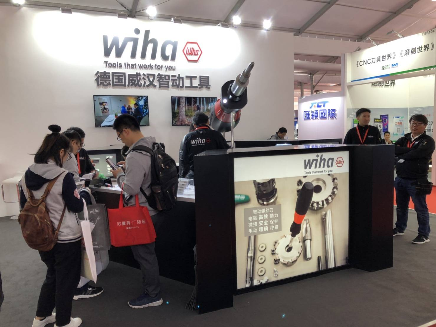Sloky in CIMT 2019 by Wiha China, booth E8 B101