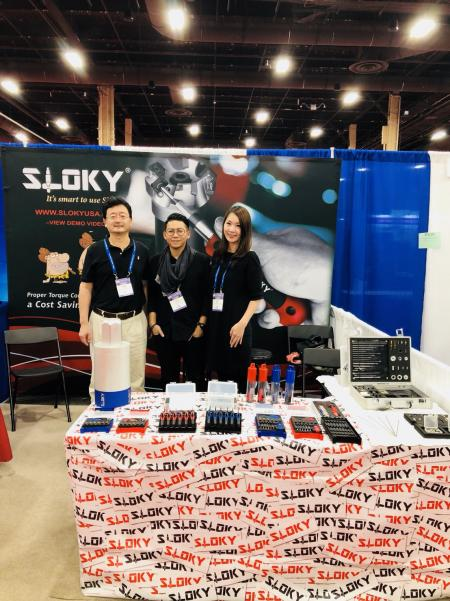 Sloky auf der International Fastener Expo 2018 in Las Vegas, Stand Nr. 3159, 31. Oktober bis 01. November - Chienfu Sloky internationale Messe für Verschlüsse 2018 in Las Vegas