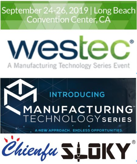 Chienfu Sloky in Westec from Sept 24~26st, booth # 1849