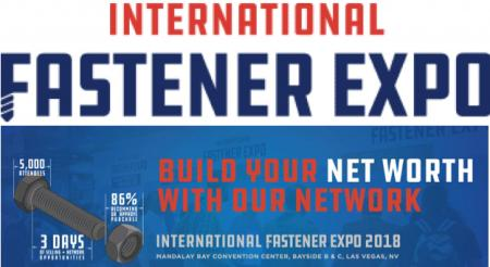 Sloky will be in International Fastener Expo Las Vegas, Oct 31~Nov 01 - Chienfu Sloky international fastener expo 2018 in Las Vegas