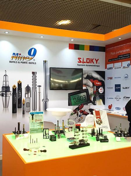 SLOKY Torque Screwdriver were showcased by Outimat Groupe in 2017 Industrial Lyon - Come and check our CNC precision, lathing, milling and turning parts; of course also Sloky Torque screwdriver and wrenches for all different application including Shooting/Hunting, Circuit board, Tire pressure detector, Bicycle, DIY Market, Drum, Lens, 3C devices and Golf Club. User friendly for CNC cutting tools of machining, lathing, turning, and milling parts.