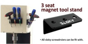 Check our brand new Sloky holder presented by Jimmore in Metalloobrabotka 2017 - New accessory, 3 seat magnet tool stand will also be showcased in the booth. It is quick and easy to fix on anywhere with metal surface. All the Sloky screwdrivers can fit in.Sloky presented by Jimmore in Metalloobrabotka 2017, Russia from 15 - 19 May 2017