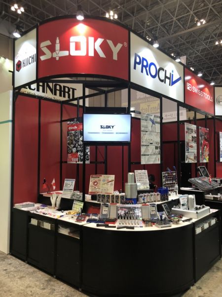 Sloky in M-tech Tokyo 2020 by Kiichi, Feb 26~28 - Chinefu Sloky in M-tech 2020