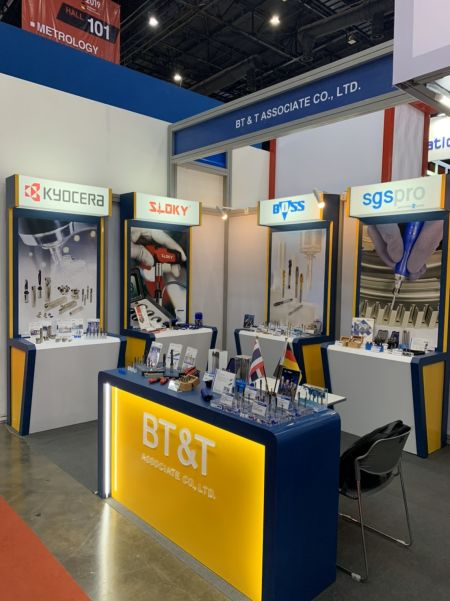 Sloky于Metalex 2019由BT&T展出, Hall 101 booth BC26, 11/20~23 - Sloky in Metalex 2019, Nov 20~23rd by BT&T