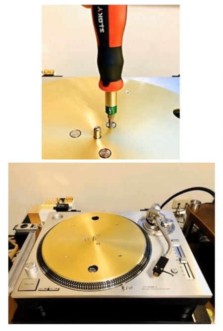 Turntable and record player - Sloky for turntable