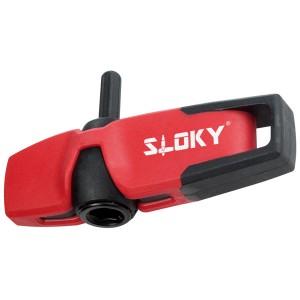 Universalgriff - Universalgriff für Sloky Drehmomentschraubendreher mit Bits von Hex, Torx und Torx Plus für Drehmomente kleiner als 3 Nm. <br />Benutzerfreundlich für CNC-Schneidwerkzeug zum Bearbeiten, Drehen und Fräsen.