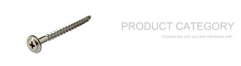 Parafusos auto-roscantes de aço inoxidável