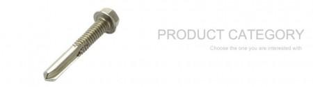 Parafusos autoperfurantes de aço inoxidável - Parafusos auto-roscantes de aço inoxidável