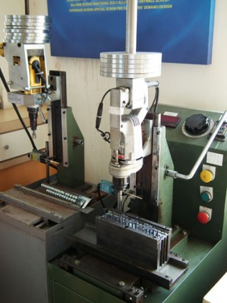 Drilling Time Test Machine
