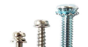 Parafusos de máquinas e parafusos de peças