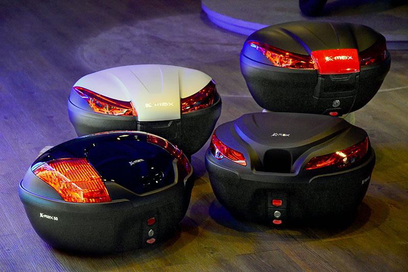 K-MAX 大容量機車行李箱