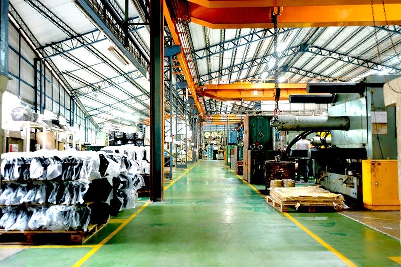 Kunststof spuitfabriek