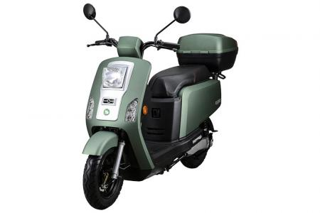 KOLA Electric Scooter in Military Green