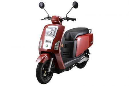 KOLA Electric Scooter in Red
