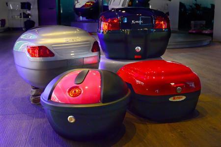 26 Liter Motorrad Topcase - K-MAX K1 Topcase