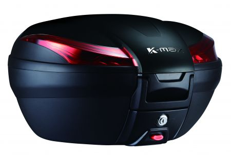 K-MAX K28 Motorcycle Top Case - 50 Liters, Large Capacity Top Case.