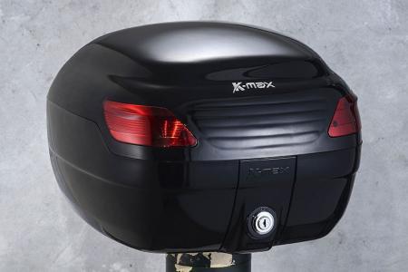 K-MAX K1 motorfiets topkoffer - Topkoffer van 26 liter, met volledig gelakt oppervlak.
