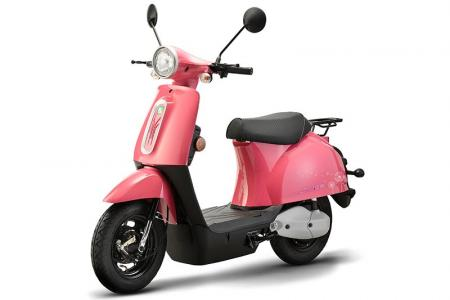 Line Electric Bike in Pink