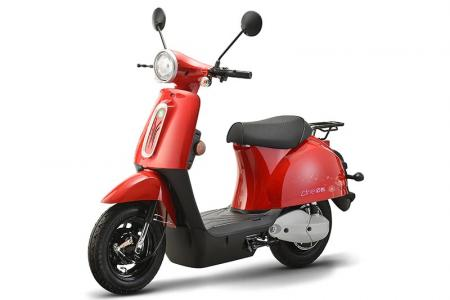 Line Electric Bike in Red