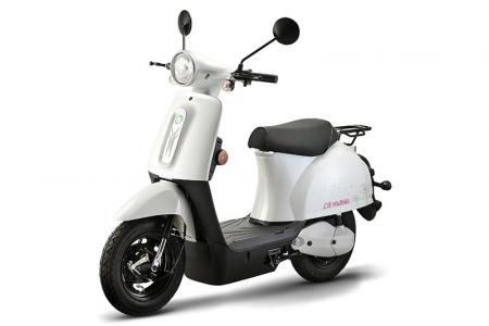 Line Electric Bike in White