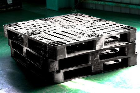 Kunststoffpalette - Sicherer und haltbarer mit Kunststoffpalette.