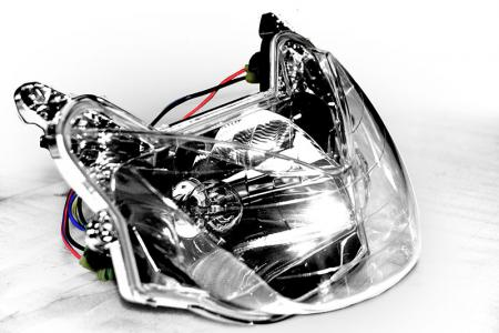 Scooter koplamp - Scooter's koplamp