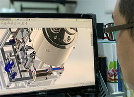 3D modeling of machine design