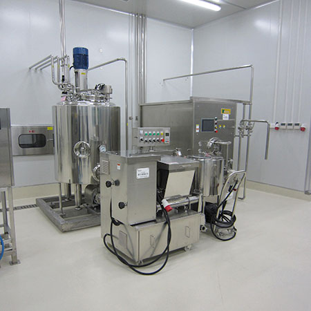 Ice Cream Production Plant