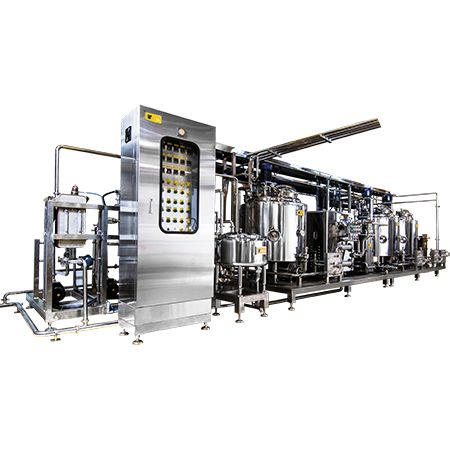 Ice Cream Pasteurization Plant