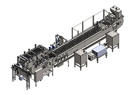 3D model of process equipment from our experienced machine designer
