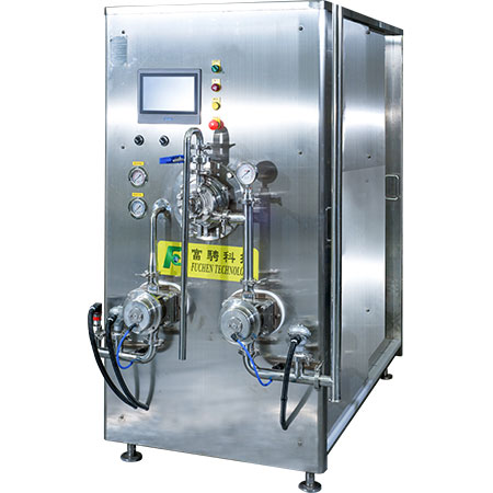 Continuous Freezer - ICF 800 - Continuous freezer ICF 800 with twin rotary lobe pumps and touchscreen.
