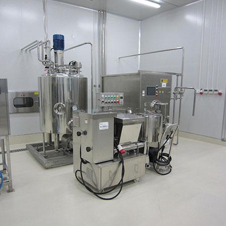 Ice Cream Eqpt. - Ice Cream Production Plant
