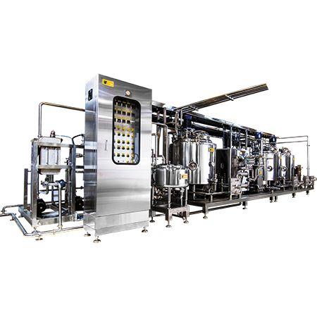 Ice Cream Mix Plant - Ice Cream Pasteurization Plant