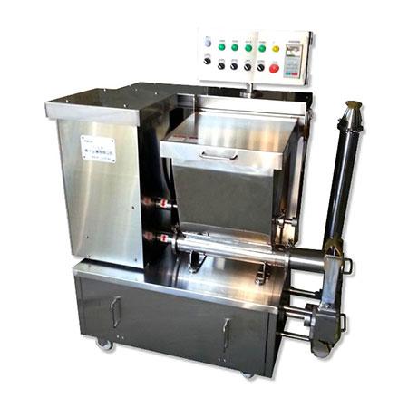 Alimentador de ingredientes - Alimentador de ingredientes y frutas para aromatizar helados.