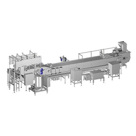 Linear Posicle Stick Moudling Machine