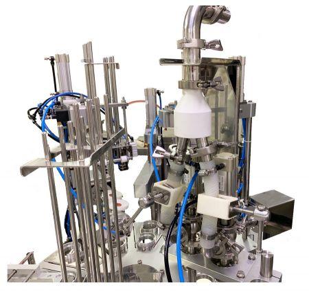Llenadoras rotativas de helado Fuchen Technology