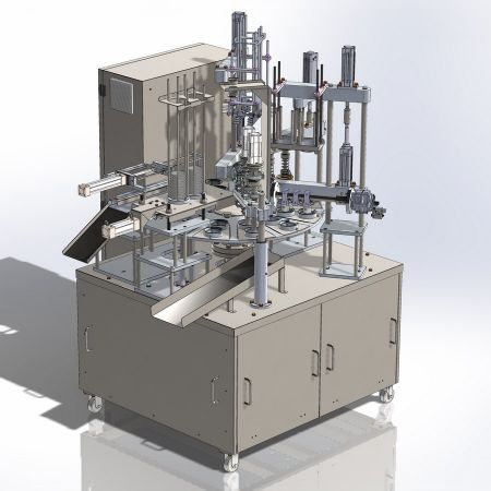 Rotary Ice Cream Fillers - Rotary ice cream filler