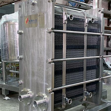 Sanitary Heat Exchangers - Sanitary Heat Exchangers