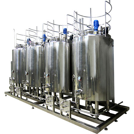 Stainless Steel Tanks - Sanitary Stainless Steel Tanks
