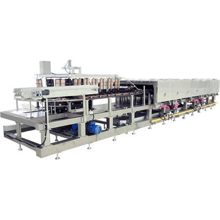 Horno para hornear gofres - Horno de gofres automático para producción industrial.