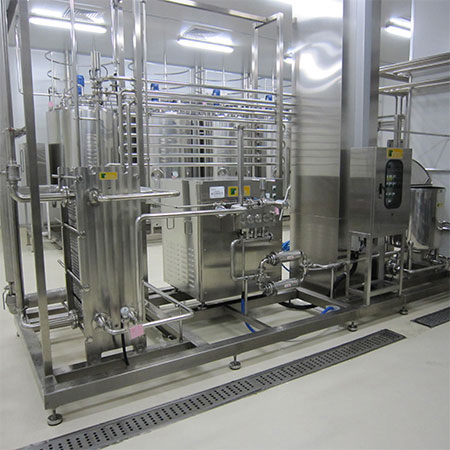 Plate Type HTST Pasteurizer