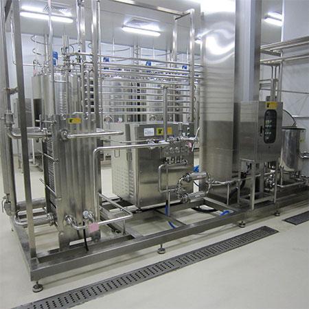Pasteurizador tipo placa HTST