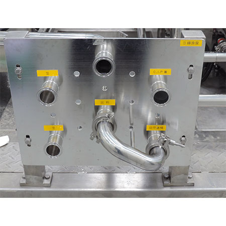Transfer Panels - 6-port transfer panel with jumper.