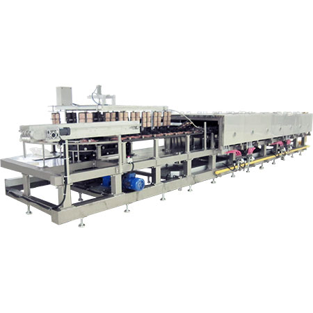 Waffle Baking Oven - Automatic waffle baking oven for industrial production.