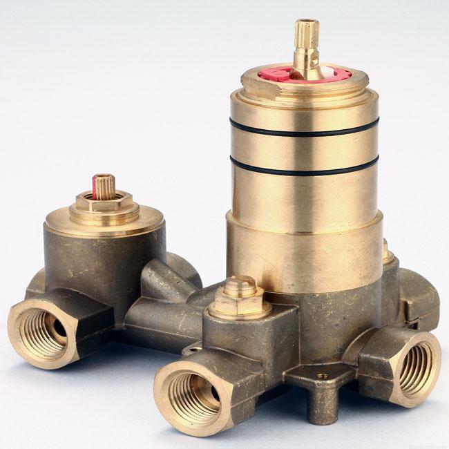 2 포트 전환기가있는 압력 밸런스 밸브